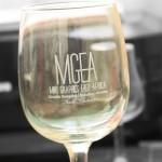 Laser Engraved Wine Glass Nairobi